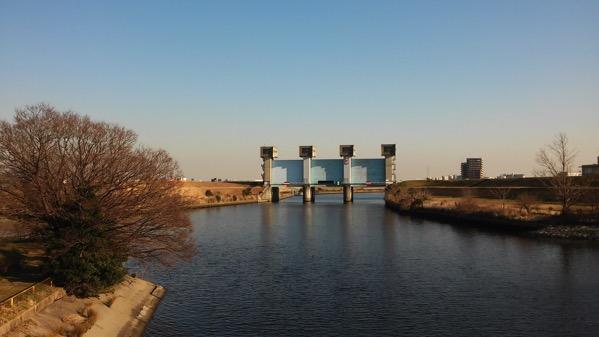 岩淵水門写真