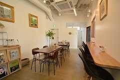 テナントとして入っているカフェの様子2。(2015-12-09,共用部,OTHER,1F)