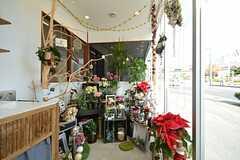 花屋さんも併設されています。(2015-12-09,共用部,OTHER,1F)