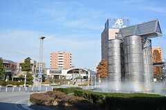 JR東海道線・三河安城駅前の様子。(2015-12-09,共用部,ENVIRONMENT,1F)