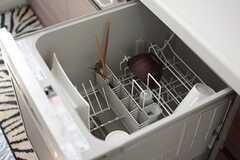 食器洗浄機もあります。(2015-01-20,共用部,KITCHEN,2F)
