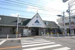 名鉄河和線・巽ヶ丘駅の様子。(2015-01-20,共用部,ENVIRONMENT,1F)