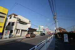 名鉄河和線・巽ヶ丘駅前の様子。(2015-01-20,共用部,ENVIRONMENT,1F)