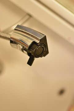 洗面台はシャワー水栓です。(2016-07-03,共用部,OTHER,1F)