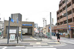 名古屋市営地下鉄鶴舞線・塩釜口駅の様子。(2016-07-03,共用部,ENVIRONMENT,1F)