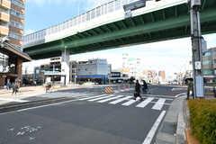 地下鉄鶴舞線・浄心駅前の交差点。(2017-03-09,共用部,ENVIRONMENT,1F)