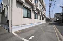 駐車場の様子。(2014-06-03,共用部,GARAGE,1F)