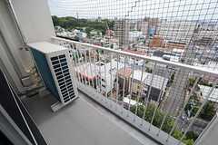 掃き出し窓の外はベランダです。(2014-09-08,共用部,OTHER,10F)