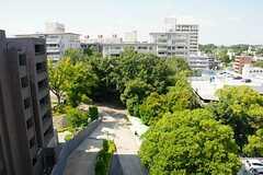 ベランダから眺めた景色。(1003号室) ※事業者様提供素材(2014-09-15,共用部,OTHER,10F)