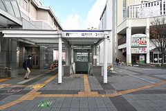 各線・藤が丘駅の様子2。(2017-01-16,共用部,ENVIRONMENT,1F)