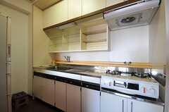 キッチンの様子2。(2012-03-27,共用部,KITCHEN,14F)
