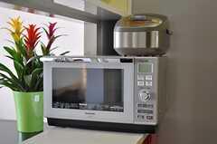 キッチン家電の様子。(2012-03-27,共用部,KITCHEN,14F)