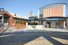 各線・砂田橋駅の様子。(2012-03-27,共用部,ENVIRONMENT,1F)