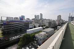 屋上からの景色。(2014-06-03,共用部,OTHER,7F)
