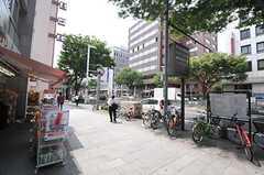 各線・伏見駅前の様子。(2014-06-03,共用部,ENVIRONMENT,1F)