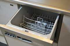 食洗機も使えます。(2012-12-09,共用部,KITCHEN,1F)