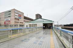 名古屋鉄道名古屋本線・有松駅の様子。(2018-05-23,共用部,ENVIRONMENT,1F)