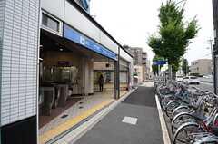 名古屋市営地下鉄東山線・中村日赤駅の様子。(2015-09-24,共用部,ENVIRONMENT,1F)