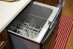食器洗浄機もあります。(2015-07-22,共用部,KITCHEN,1F)