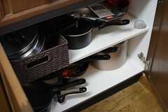 調理器具はこちら。(2015-07-22,共用部,KITCHEN,1F)