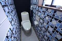ウォシュレット付きトイレの様子。(2015-07-22,共用部,TOILET,1F)