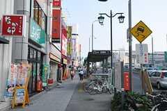 最寄りの名古屋市営地下鉄・新瑞橋駅の様子。(2013-09-12,共用部,ENVIRONMENT,1F)