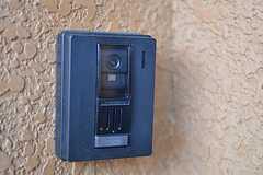 カメラ付きインターホンの様子。(2014-12-24,周辺環境,ENTRANCE,3F)