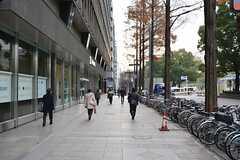 名古屋市営地下鉄東山線・栄駅前の様子。(2014-12-24,共用部,ENVIRONMENT,1F)