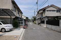 シェアハウスの周辺は静かな住宅地です。(2011-08-09,共用部,ENVIRONMENT,1F)