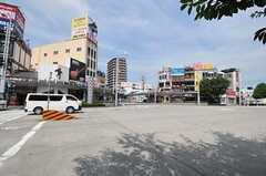 名古屋市営地下鉄桜通線・桜山駅前の様子。(2011-08-09,共用部,ENVIRONMENT,1F)