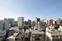 ベランダからの景色。(816号室)(2013-02-26,専有部,ROOM,8F)