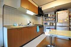 キッチンの様子2。(2012-10-26,共用部,KITCHEN,5F)