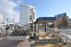 最寄りの地下鉄桜通線・中村区役所駅までは徒歩3分。(2012-12-09,共用部,ENVIRONMENT,1F)
