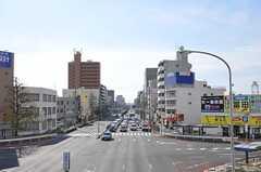 地下鉄桜通線・中村区役所駅前の様子。(2012-12-09,共用部,ENVIRONMENT,1F)