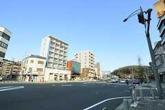 名古屋市営地下鉄東山線・東山公園駅前の様子。(2013-02-25,共用部,ENVIRONMENT,1F)