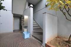 階段の様子。(2012-10-26,共用部,OTHER,1F)