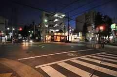 名古屋市営地下鉄鶴舞線・原駅からシェアハウスへ向かう道の様子。(2012-10-26,共用部,ENVIRONMENT,1F)