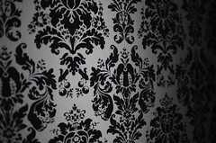 壁紙はシック&ゴージャス。(209号室)(2013-02-25,専有部,ROOM,2F)
