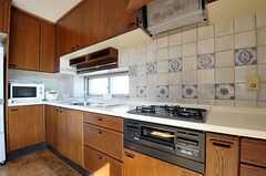 キッチンの様子。(2012-02-03,共用部,KITCHEN,4F)