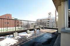 屋上の様子。(2012-02-03,共用部,OTHER,5F)