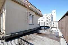 屋上の様子2。(2012-02-03,共用部,OTHER,5F)
