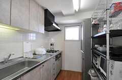 キッチンの様子。(2011-10-16,共用部,KITCHEN,14F)