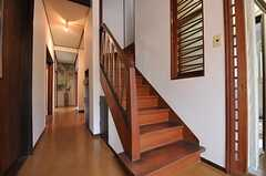 階段の様子。(2011-06-11,共用部,OTHER,1F)