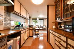 キッチンの様子。(2017-07-11,共用部,KITCHEN,2F)