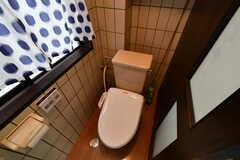 ウォシュレット付きトイレの様子。(2017-07-11,共用部,TOILET,3F)