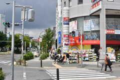 名古屋市営地下鉄・東山線、一社駅前の様子2。(2017-07-11,共用部,ENVIRONMENT,1F)
