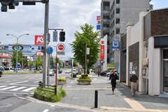 名古屋市営地下鉄・東山線、一社駅前の様子3。(2017-07-11,共用部,ENVIRONMENT,1F)