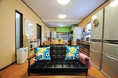 こちらもカリモクのソファです。(2013-03-22,共用部,LIVINGROOM,1F)