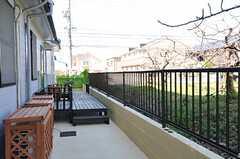 建物脇は梅の果樹園。(2013-03-22,共用部,OTHER,1F)