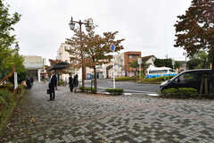 JR成田線・酒々井駅周辺の様子。(2017-10-17,共用部,ENVIRONMENT,1F)